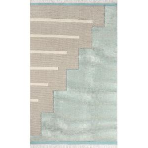 Karl Blue Rectangular: 2 Ft. x 3 Ft. Rug