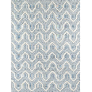 Langdon Prince Blue Rectangular: 7 Ft. 6 In. x 9 Ft. 6 In. Rug