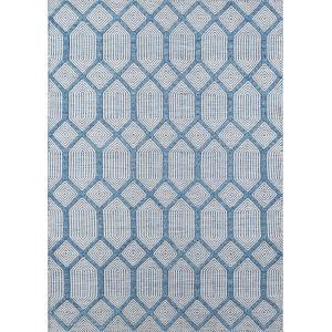 Langdon Cambridge Blue Rectangular: 5 Ft. x 8 Ft. Rug