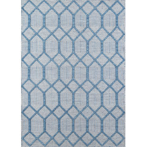 Langdon Cambridge Blue Rectangular: 7 Ft. 6 In. x 9 Ft. 6 In. Rug