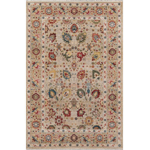Lenox Oriental Ivory Rectangular: 7 Ft. 6 In. x 9 Ft. 6 In. Rug