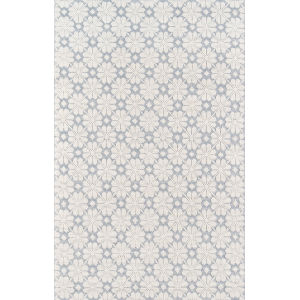 Lisbon Blue Rectangular: 7 Ft. 6 In. x 9 Ft. 6 In. Rug