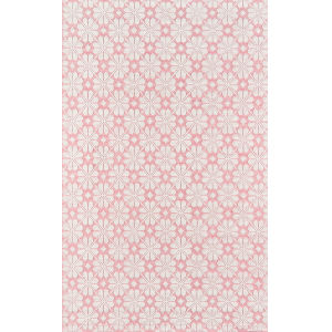 Lisbon Seville Pink Rectangular: 7 Ft. 6 In. x 9 Ft. 6 In. Rug