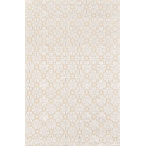 Lisbon Yellow Rectangular: 3 Ft. 6 In. x 5 Ft. 6 In. Rug