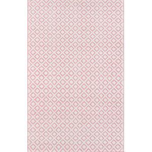 Lisbon Sintra Pink Rectangular: 5 Ft. x 8 Ft. Rug