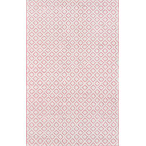 Lisbon Sintra Pink Rectangular: 7 Ft. 6 In. x 9 Ft. 6 In. Rug