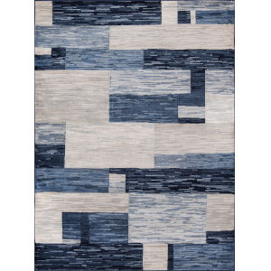 Logan Navy Runner: 2 Ft. 3 In. x 7 Ft. 6 In.