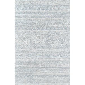 Mallorca Light Blue Runner: 2 Ft. x 8 Ft.
