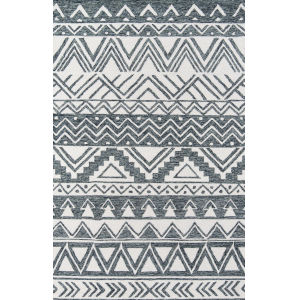 Mallorca Charcoal Rectangular: 8 Ft. x 10 Ft. Rug