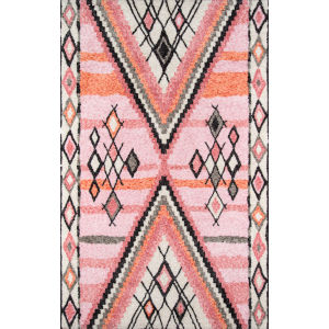 Margaux Pink Rectangular: 7 Ft. 6 In. x 9 Ft. 6 In. Rug