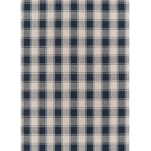 Marlborough Charles Navy Runner: 2 Ft. 3 In. x 8 Ft.