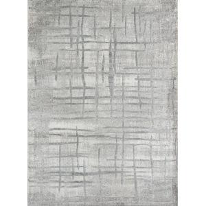 Matrix Gray Rectangular: 5 Ft. 3 In. x 7 Ft. 2 In. Rug