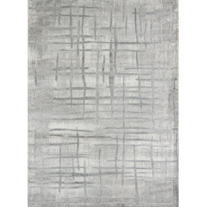 Matrix Gray Rectangular: 7 Ft. 6 In. x 9 Ft. 6 In. Rug