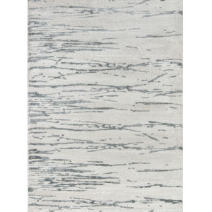 Matrix Abstract Gray Rectangular: 5 Ft. 3 In. x 7 Ft. 2 In. Rug