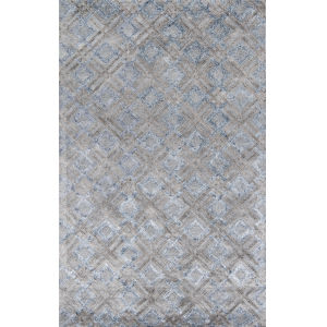 Millennia Geometric Silver Rectangular: 5 Ft. x 8 Ft. Rug