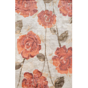 Millennia Red Rectangular: 5 Ft. x 8 Ft. Rug