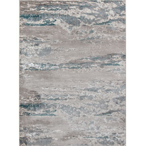 Monterey Teal Rectangular: 7 Ft. 6 In. x 9 Ft. 6 In. Rug