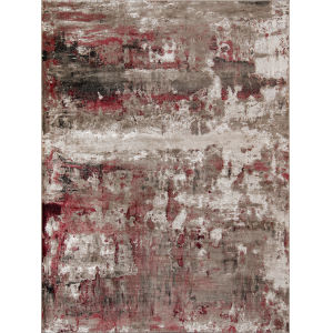 Monterey Red Rectangular: 3 Ft. 3 In. x 5 Ft. Rug