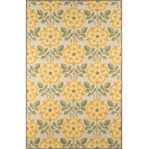 Newport Yellow Rectangular: 5 Ft. x 8 Ft. Rug