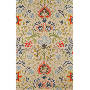 Newport Multicolor Rectangular: 3 Ft. 9 In. x 5 Ft. 9 In. Rug