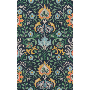 Newport Navy Rectangular: 8 Ft. x 10 Ft. Rug