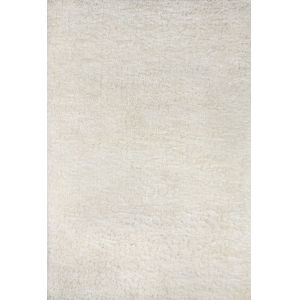 Nola Shag White Rectangular: 5 Ft. x 7 Ft. Rug