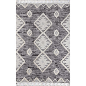 Odessa Charcoal Rectangular: 5 Ft. 3 In. x 7 Ft. 6 In. Rug