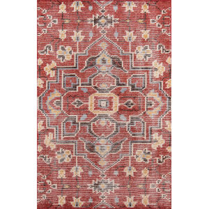 Ophelia Red Rectangular: 5 Ft. x 8 Ft. Rug