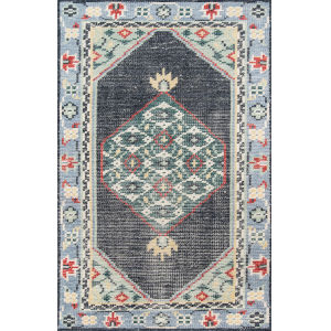 Ophelia Medallion Multicolor Rectangular: 8 Ft. x 10 Ft. Rug