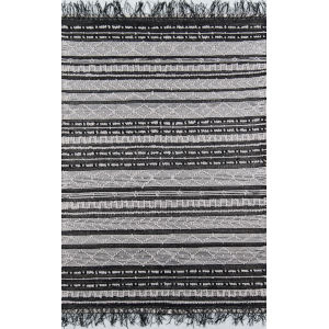 Otto Black Rectangular: 7 Ft. 9 In. x 9 Ft. 9 In. Rug