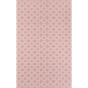 Palm Beach Via Mizner Pink Rectangular: 7 Ft. 6 In. x 9 Ft. 6 In. Rug