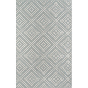 Palm Beach Gray Rectangular: 3 Ft. 6 In. x 5 Ft. 6 In. Rug