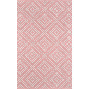 Palm Beach Everglades Club Pink Rectangular: 7 Ft. 6 In. x 9 Ft. 6 In. Rug