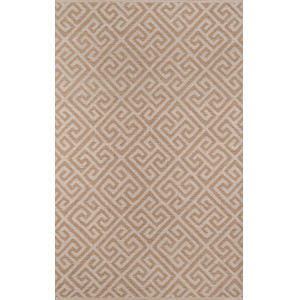 Palm Beach Brown Rectangular: 3 Ft. 6 In. x 5 Ft. 6 In. Rug