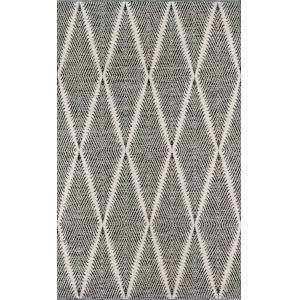 River Black Rectangular: 5 Ft. x 7 Ft. 6 In. Rug