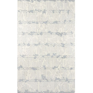 Smith Abstract Gray Rectangular: 5 Ft. x 8 Ft. Rug