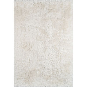 Snow Shag White Rectangular: 8 Ft. x 10 Ft. Rug