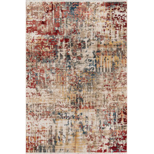 Studio Multicolor Abstract Rectangular: 9 Ft. 6 In. x 12 Ft. 6 In. Rug