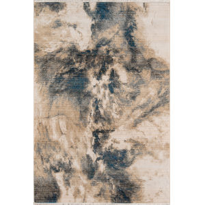 Studio Blue Rectangular: 9 Ft. 6 In. x 12 Ft. 6 In. Rug