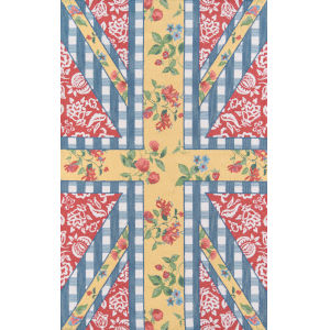 Summer Garden Multicolor Rectangular: 5 Ft. x 8 Ft. Rug