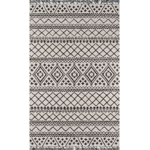 Tahoe Southwestern Gray Rectangular: 7 Ft. 6 In. x 9 Ft. 6 In. Rug
