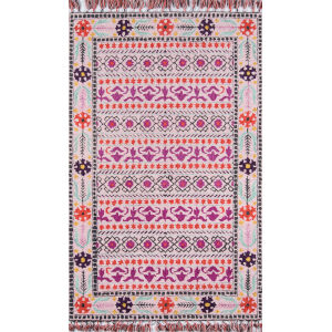 Tahoe Pink Rectangular: 7 Ft. 6 In. x 9 Ft. 6 In. Rug
