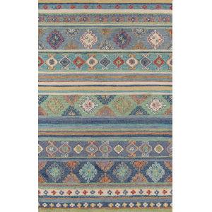 Tangier Oriental Blue Rectangular: 5 Ft. x 8 Ft. Rug