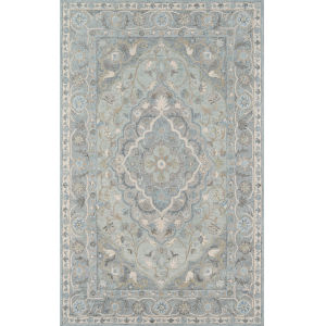 Tangier Blue Rectangular: 3 Ft. 6 In. x 5 Ft. 6 In. Rug