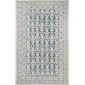 Tangier Geometric Blue Rectangular: 5 Ft. x 8 Ft. Rug