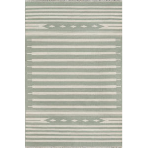 Thompson Light Green Rectangular: 7 Ft. 6 In. x 9 Ft. 6 In. Rug
