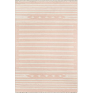 Thompson Billings Pink Rectangular: 7 Ft. 6 In. x 9 Ft. 6 In. Rug