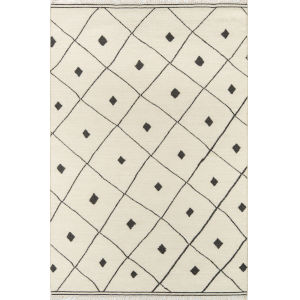 Thompson Appleton Ivory Rectangular: 7 Ft. 6 In. x 9 Ft. 6 In. Rug