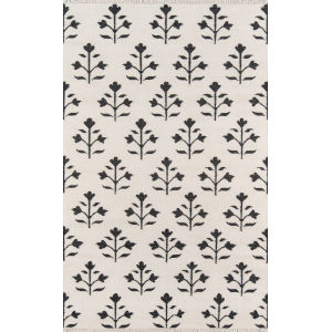 Thompson Grove Ivory Rectangular: 7 Ft. 6 In. x 9 Ft. 6 In. Rug