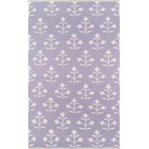 Thompson Lilac Rectangular: 5 Ft. x 7 Ft. 6 In. Rug